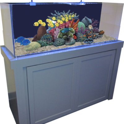 50 Gallon Aquarium and fish tank stand combo