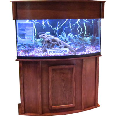 Bowfront Fish Tank Stand