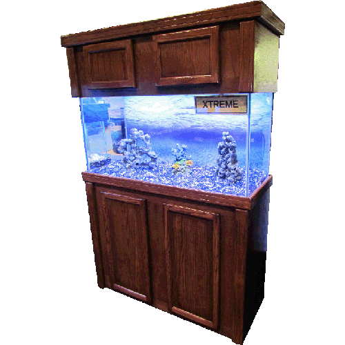 R j enterprises xtreme reef series fish tank stands for Fish tank cabinets