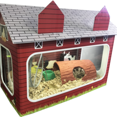 10 Gallon Fish Tank House Barn